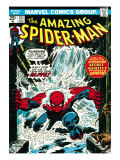 Marvel Comics Retro: The Amazing Spider-Man Comic Book Cover 151  Flooding