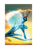 Ultimate Fantastic Four 55 Cover: Invisible Woman