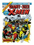 Marvel Comics Retro: The X-Men Comic Book Cover No1
