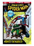 The Amazing Spider-Man No108 Cover: Spider-Man Swimming