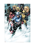 Free Comic Book Day 2009 Avengers No1 Group: Captain America