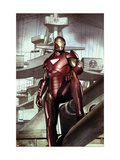 Iron Man: Director Of SHIELD 32 Cover: Iron Man