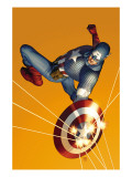 The Marvels Project 6 Cover: Captain America