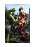 Marvel Adventures Iron Man Special Edition 1 Cover: Iron Man  Hulk and Spider-Man