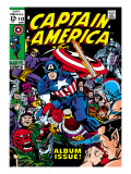 Marvel Comics Retro: Captain America Comic Book Cover No112  Album Issue!