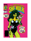 The Sensational She-Hulk 1 Cover: She-Hulk