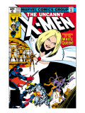Uncanny X-Men No131 Cover: White Queen  Colossus and Nightcrawler