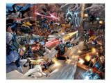 X-Men vs Agents of Atlas No2 Group: Storm