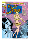 Marvel Comics Retro: My Love Comic Book Cover No2  Crying and Dancing