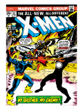 Marvel Comics Retro: The X-Men Comic Book Cover 97  Havok  My Brother-My Enemy!