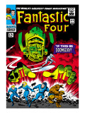 Marvel Comics Retro: Fantastic Four Family Comic Book Cover 49  If This Be Doomsday!