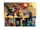 New Avengers No56 Group: Spider-Man  Iron Patriot  Wolverine  Ms Marvel  Ares and Hawkeye