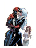 The Amazing Spider-Man 606 Cover: Spider-Man  Black Cat and Mary Jane Watson