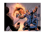 Dark Reign: Fantastic Four No4 Group: Invisible Woman  Thing  Mr Fantastic and Human Torch