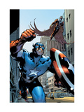 Captain America And The Falcon No12 Cover: Captain America and Falcon