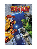 Iron Man: Legacy Of Doom No1 Cover: Iron Man and Dr Doom