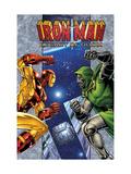 Iron Man: Legacy Of Doom No1 Cover: Iron Man and Dr Doom