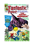 The Fantastic Four No21 Cover: Mr Fantastic