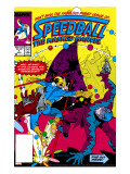 Speedball 1 Cover: Speedball Fighting