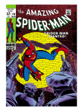 Marvel Comics Retro: The Amazing Spider-Man Comic Book Cover 70  Wanted!