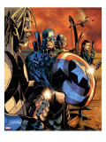 Ultimate War 3 Group: Thor and Captain America