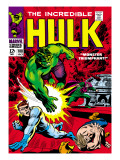 Marvel Comics Retro: The Incredible Hulk Comic Book Cover 108  with Nick Fury
