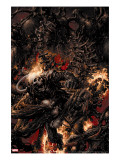 Ghost Rider 5 Cover: Ghost Rider Fighting