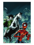 Marvel Adventures Spider-Man 12 Cover: Spider-Man and Nightmare