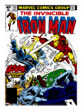 Marvel Comics Retro: The Invincible Iron Man Comic Book Cover 124  Action in Atlantic City