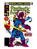 Fantastic Four 243 Cover: Galactus