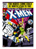 Marvel Comics Retro: The X-Men Comic Book Cover 137  Phoenix  Colossus