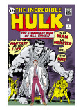 Marvel Comics Retro: The Incredible Hulk Comic Book Cover 1  with Bruce Banner