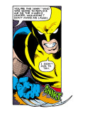 Marvel Comics Retro: X-Men Comic Panel  Wolverine