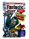 Fantastic Four Annual No2 Cover: Dr Doom