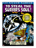Marvel Comics Retro: Silver Surfer Comic Panel