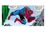 Marvel Comics Retro: The Amazing Spider-Man Comic Panel