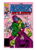 Avengers 269 Cover: Kang and Immortus Fighting