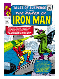 Marvel Comics Retro: The Invincible Iron Man Comic Book Cover 54  Mandarin's Revenge!