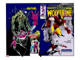 Marvel Comics Presents 10 Cover: Wolverine  Colossus  and Spider-Man Jumping