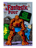 Fantastic Four 51 Cover: Invisible Woman and Thing