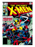Marvel Comics Retro: The X-Men Comic Book Cover No133  Wolverine Lashes Out