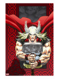 Thor: Blood Oath 6 Cover: Thor