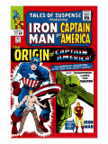 Tales Of Suspense 63 Cover: Iron Man  The Phantom  Captain America  Rogers and Steve
