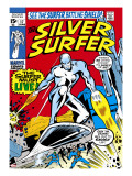 Marvel Comics Retro: Silver Surfer Comic Book Cover No17