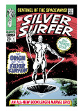 Marvel Comics Retro: Silver Surfer Comic Book Cover No1  Origin