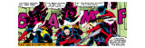 Marvel Comics Retro: X-Men Comic Panel  Nightcrawler