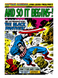 Marvel Comics Retro: Captain America Comic Panel  And So It Begins!