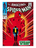 Marvel Comics Retro: The Amazing Spider-Man Comic Book Cover 50  Spider-Man No More!