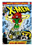 Marvel Comics Retro: The X-Men Comic Book Cover No101  Phoenix  Storm  Nightcrawler  Cyclops