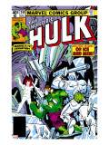 The Incredible Hulk 249 Cover: Hulk and Jack Frost Fighting